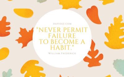 Habit Failure
